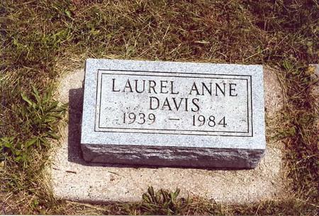 DAVIS, LAUREL ANNE - Page County, Iowa | LAUREL ANNE DAVIS