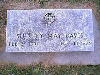 DAVIS, SHIRLEY MAY - Page County, Iowa | SHIRLEY MAY DAVIS