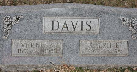 DAVIS, RALPH LORAIN - Page County, Iowa | RALPH LORAIN DAVIS