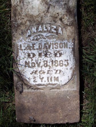 DAVISON, ANALIZA - Page County, Iowa | ANALIZA DAVISON