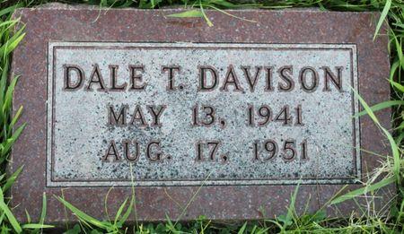 DAVISON, DALE TREVOR - Page County, Iowa | DALE TREVOR DAVISON