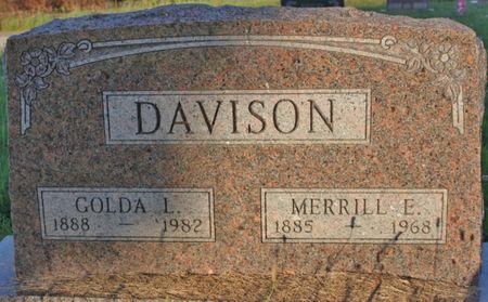 HAMM DAVISON, GOLDA - Page County, Iowa | GOLDA HAMM DAVISON