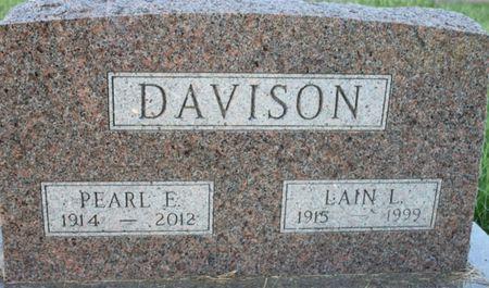 DAVISON, LAIN L - Page County, Iowa | LAIN L DAVISON