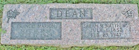 DEAN, SARAH M - Page County, Iowa | SARAH M DEAN