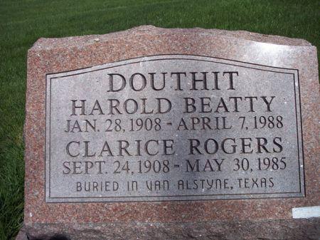 DOUTHIT, HAROLD BEATTY - Page County, Iowa | HAROLD BEATTY DOUTHIT