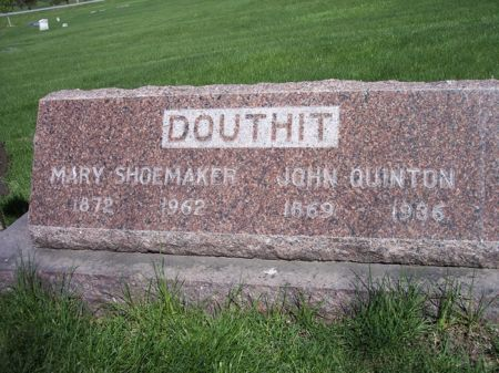 DOUTHIT, MARY - Page County, Iowa | MARY DOUTHIT
