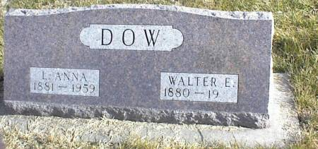 DOW, WALTER E. - Page County, Iowa | WALTER E. DOW