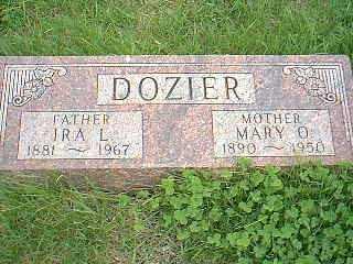 DOZIER, IRA L. - Page County, Iowa   IRA L. DOZIER