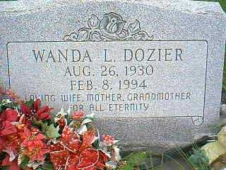 DOZIER, WANDA L. - Page County, Iowa | WANDA L. DOZIER