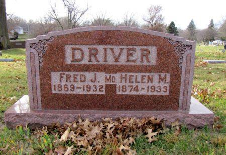 MCLAIN DRIVER, HELEN - Page County, Iowa   HELEN MCLAIN DRIVER