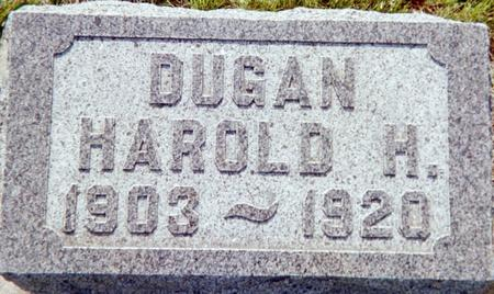 DUGAN, HAROLD H. - Page County, Iowa   HAROLD H. DUGAN