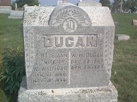 DUGAN, ROSE ANN - Page County, Iowa | ROSE ANN DUGAN