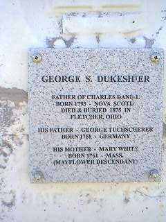 DUKESHIER, GEORGE S. - Page County, Iowa | GEORGE S. DUKESHIER