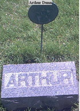 DUNN, ARTHUR - Page County, Iowa   ARTHUR DUNN