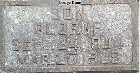 DUNN, GEORGE - Page County, Iowa | GEORGE DUNN