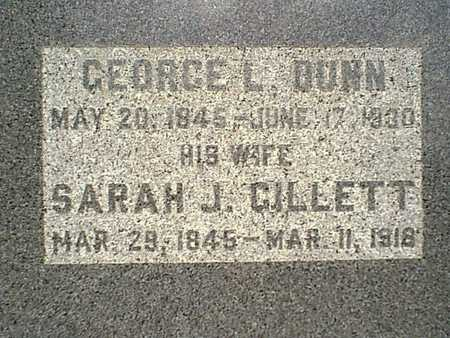 DUNN, GEORGE L. - Page County, Iowa | GEORGE L. DUNN