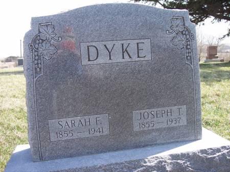 DYKE, JOSEPH T. - Page County, Iowa   JOSEPH T. DYKE