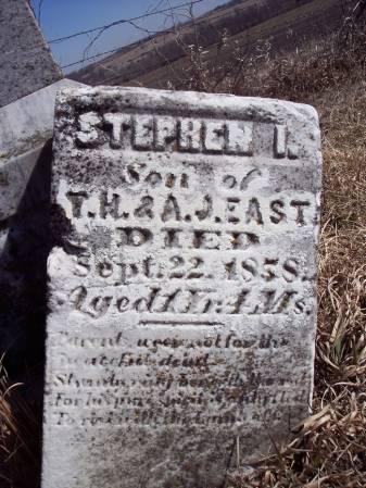 EAST, STEPHEN I. - Page County, Iowa   STEPHEN I. EAST
