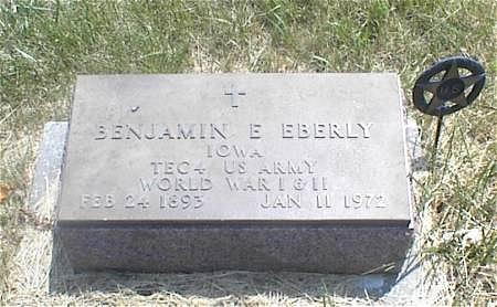 EBERLY, BENJAMIN E. - Page County, Iowa | BENJAMIN E. EBERLY