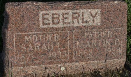 EBERLY, SARAH LOUISA - Page County, Iowa | SARAH LOUISA EBERLY