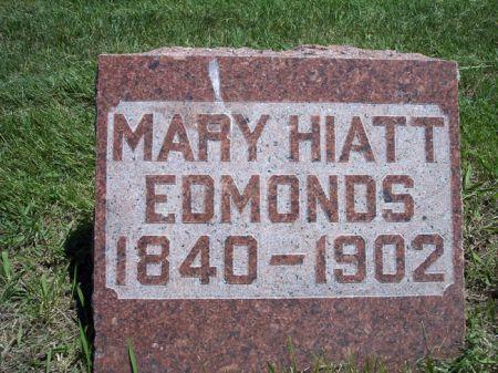 HIATT EDMONDS, MARY - Page County, Iowa | MARY HIATT EDMONDS