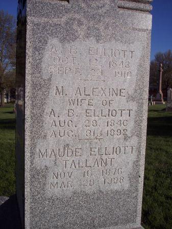 ELLIOTT, A.B. - Page County, Iowa | A.B. ELLIOTT