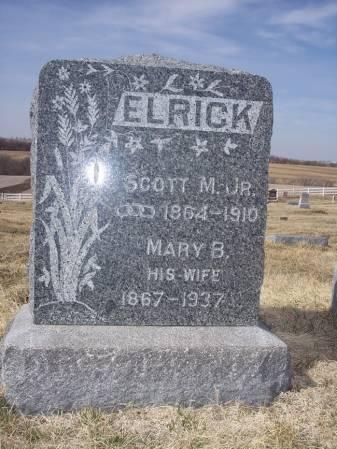 ELRICK, MARY B. - Page County, Iowa | MARY B. ELRICK