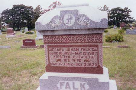 FALK, CARL JOHAN - Page County, Iowa | CARL JOHAN FALK