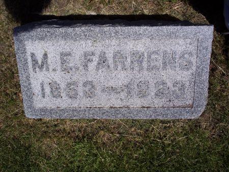 FARRENS, M.E. - Page County, Iowa   M.E. FARRENS