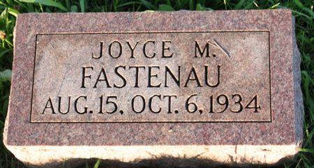 FASTENAU, JOYCE MARIE - Page County, Iowa   JOYCE MARIE FASTENAU