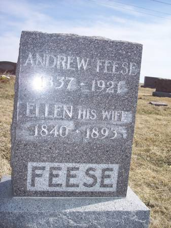 FEESE, ANDREW - Page County, Iowa   ANDREW FEESE