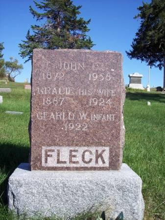 FLECK, GEARLD W. - Page County, Iowa   GEARLD W. FLECK