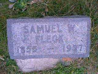 FLECK, SAMUEL W. - Page County, Iowa | SAMUEL W. FLECK