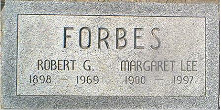 FORBES, MARGARET LEE - Page County, Iowa | MARGARET LEE FORBES