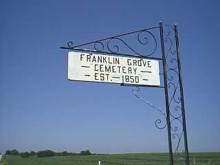 FRANKLIN GROVE, CEMETERY - Page County, Iowa | CEMETERY FRANKLIN GROVE
