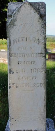 WRAY FRUITS, MATILDA - Page County, Iowa | MATILDA WRAY FRUITS