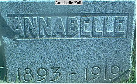 FULK, ANNABELLE - Page County, Iowa | ANNABELLE FULK