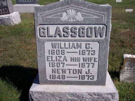 GLASSGOW, NEWTON J. - Page County, Iowa   NEWTON J. GLASSGOW