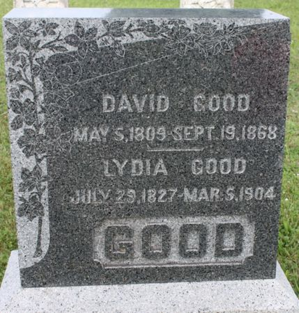 GOOD, DAVID - Page County, Iowa | DAVID GOOD