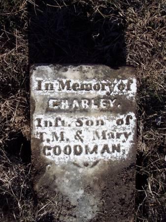 GOODMAN, CHARLEY - Page County, Iowa   CHARLEY GOODMAN