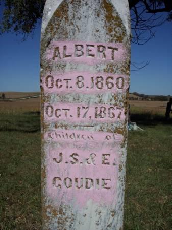GOUDIE, ALBERT - Page County, Iowa | ALBERT GOUDIE
