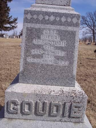 GOUDIE, ETTA - Page County, Iowa | ETTA GOUDIE