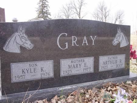 GRAY, MARY E. - Page County, Iowa   MARY E. GRAY