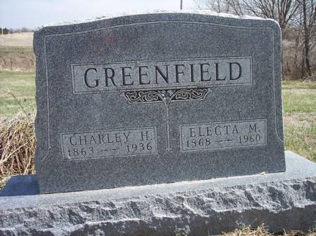 GREENFIELD, CHARLEY H. - Page County, Iowa   CHARLEY H. GREENFIELD