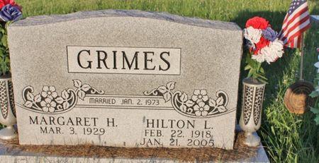 GRIMES, MARGARET H - Page County, Iowa | MARGARET H GRIMES