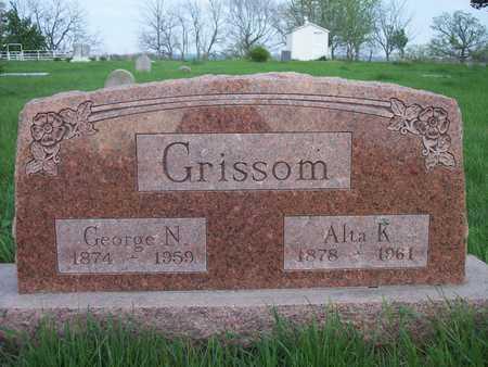 GRISSOM, ALTA K. - Page County, Iowa | ALTA K. GRISSOM