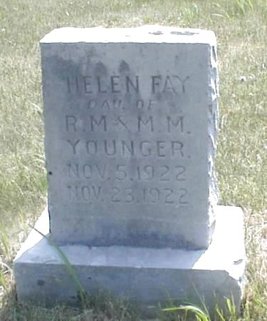 YOUNGER, HELEN FAY - Page County, Iowa | HELEN FAY YOUNGER