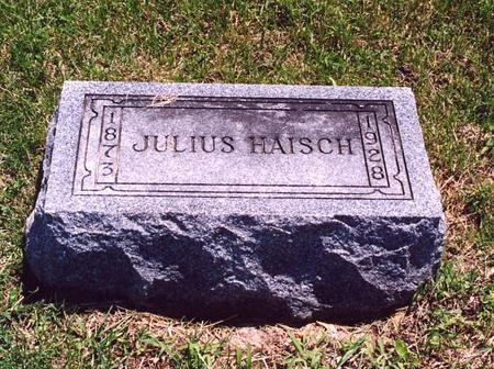 HAISCH, JULIUS - Page County, Iowa | JULIUS HAISCH