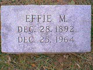 HAKES, EFFIE M. - Page County, Iowa | EFFIE M. HAKES