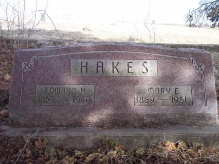 HAKES, MARY E. - Page County, Iowa | MARY E. HAKES